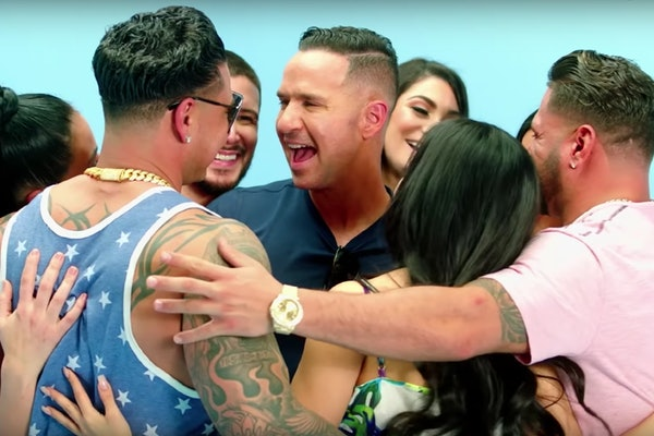 "Mike ""The Situation"" Sorrentino reunited with his 'Jersey Shore' castmates in a new promo teaser."