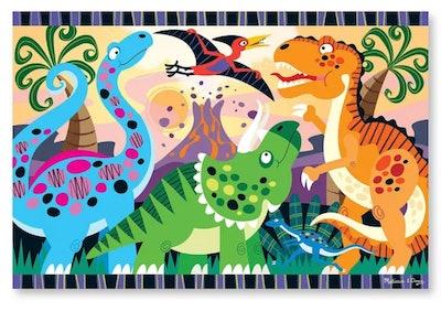 Melissa & Doug Dinosaur Dawn Jumbo Jigsaw Floor Puzzle