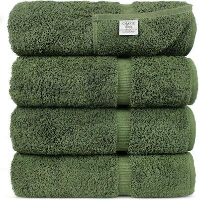 Luxury Hotel & Spa Bath Towel Set Of 4
