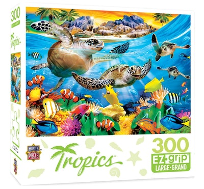 Master Pieces Tropics Breaking Waves 300pc EzGrip Puzzle