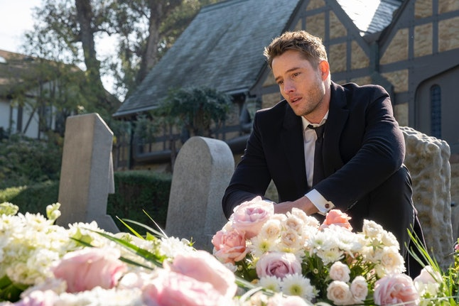 Kevin visited Sophie's mom's grave on 'This Is Us.'