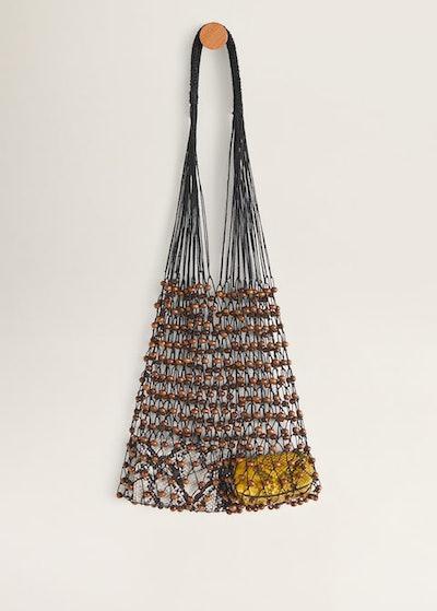 Net Wood Bag