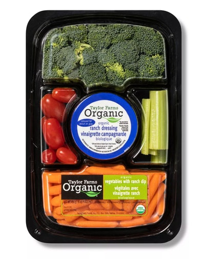 Mann's Organic Vegetable Tray