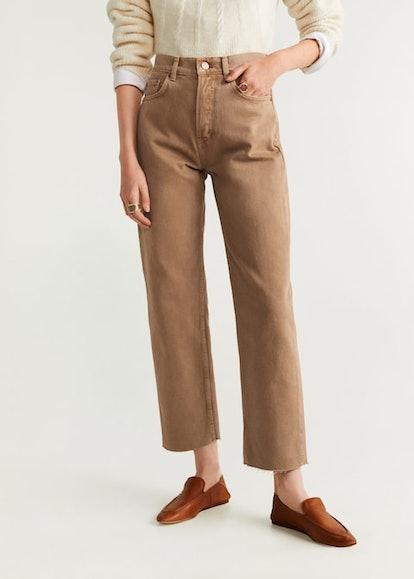 Regular straight jeans