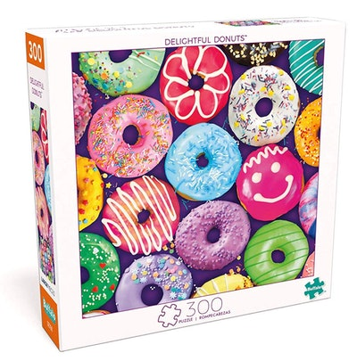 Buffalo Games Delightful Donuts 300 Large Piece Jigsaw Puzzle
