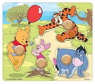 Melissa & Doug Disney Baby Winnie the Pooh and Friends Jumbo Knob Wooden Puzzle