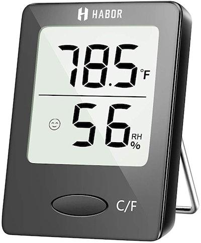 Habor Digital Hygrometer Indoor Thermometer