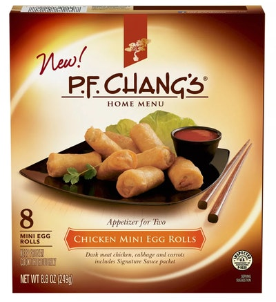 PF Chang's Chicken Frozen Mini Egg Rolls