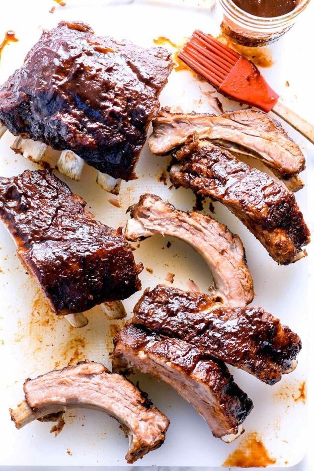 Baby back ribs made in the Instant Pot really free up your time before the big game.