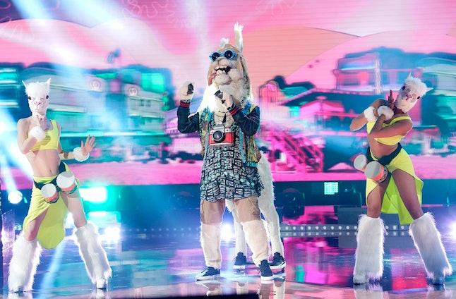 The Llama in The Masked Singer Season 3.