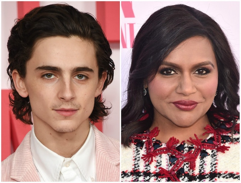 The 2020 Oscar Presenters Include Timothée Chalamet, Mindy Kaling, & More