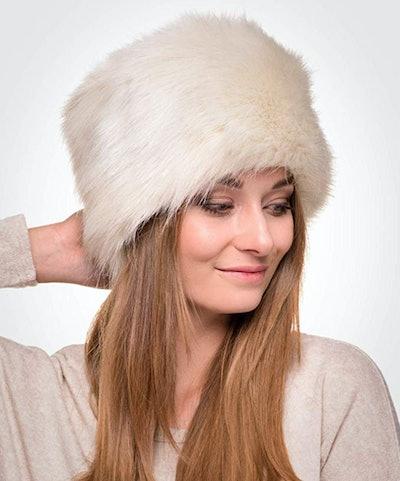 Futrzane Faux Fur Hat