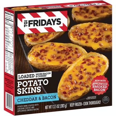 TGI Fridays Cheddar & Bacon Loaded Potato Skins