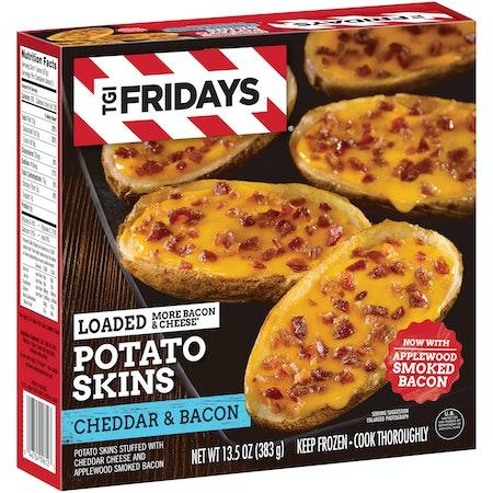 TGI Fridays Cheddar & Bacon Loaded Potato Skins