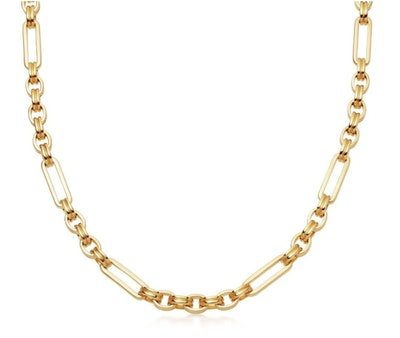 Lucy Williams Gold Axiom Chain Necklace
