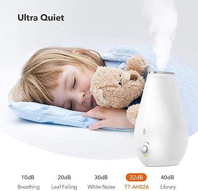 TaoTronics Cool Mist Humidifiers for Babies