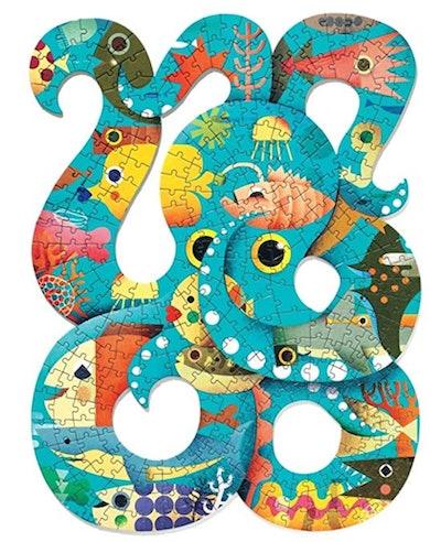 DJECO Puzz Art Octopus Jig Saw Puzzle
