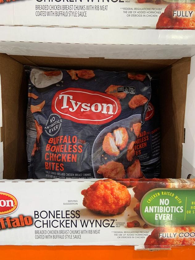 Tyson buffalo boneless wings