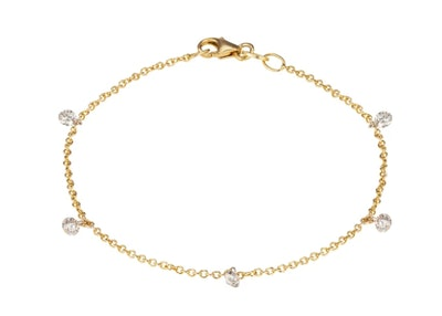 Modern Tennis Bracelet