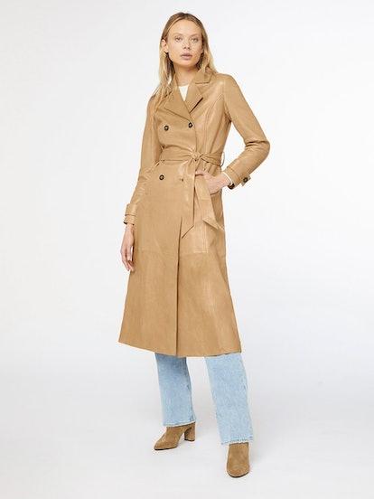 Caramel Trench Coat