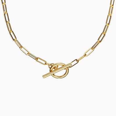 Love Link Necklace Yellow gold vermeil