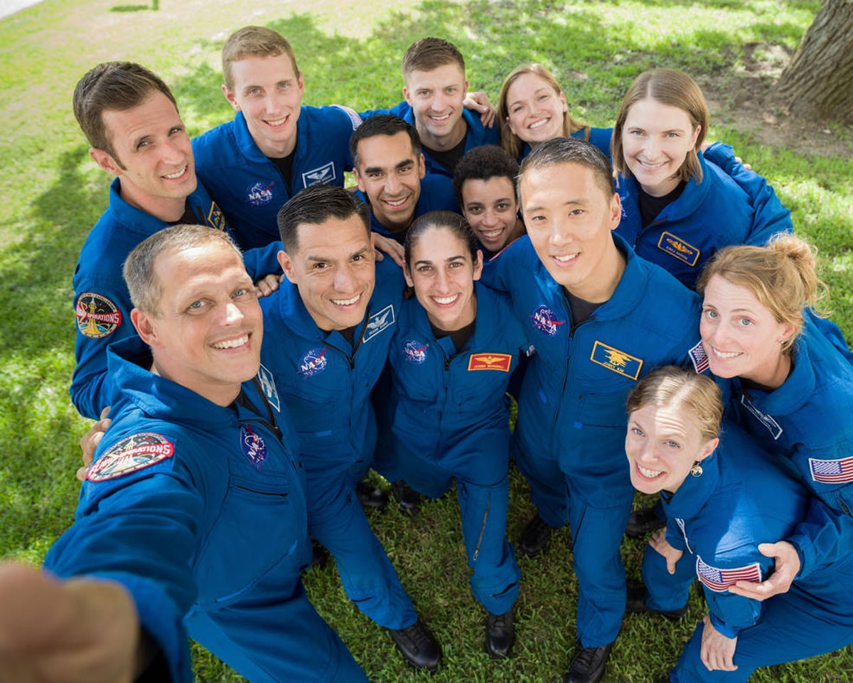 NASA Astronaut candidates group 22 the Turtles