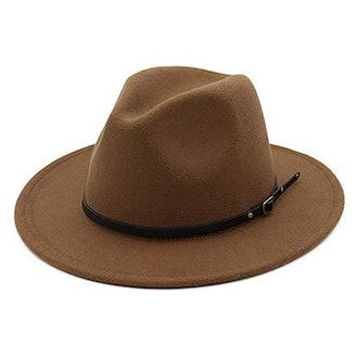 Lisianthus Fedora Hat