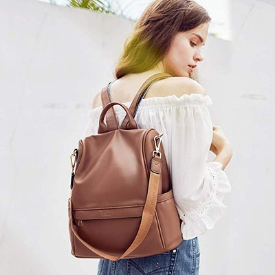 CLUCI Leather Backpack