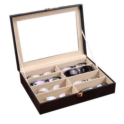 UnionPlus 8-Slot Eyeglasses Organizer
