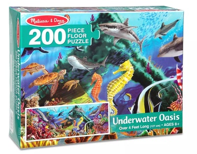 Melissa & Doug Underwater Oasis Jumbo Floor Puzzle