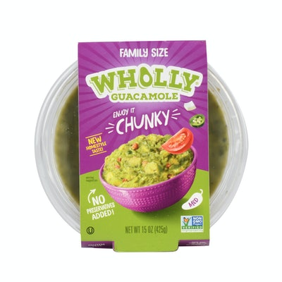 Wholly Guacamole Homestyle Chunky Medium