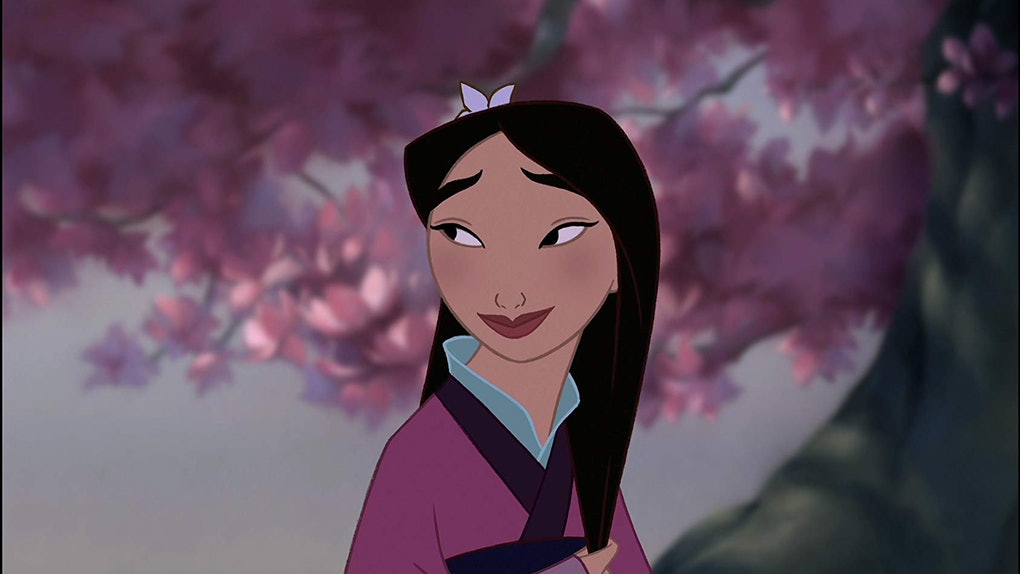 Here's How To Get The Instagram Disney Filter to get matched with a random character like Mulan.