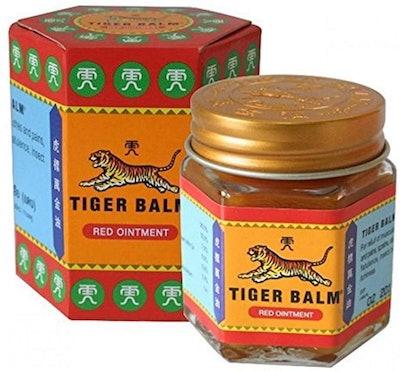 Tiger Balm Red Extra-Strength Herbal Rub (30 Grams)