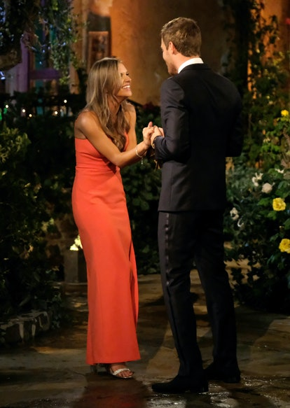 The Bachelor's Savannah was another woman who chose to wear red.