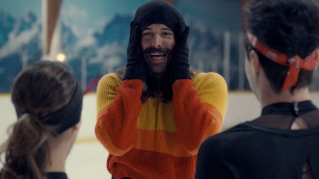 Jonathan Van Ness in 'Spinning Out'