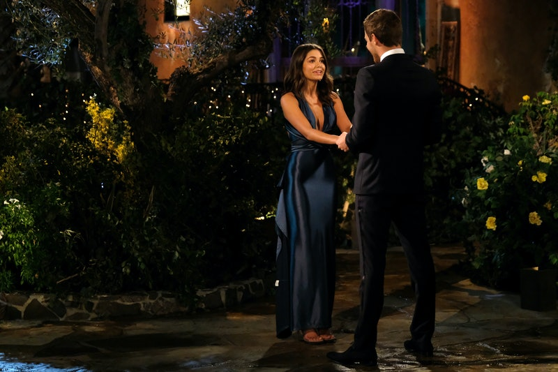 Hannah Sluss is a contestant in Peter's Bachelor season.