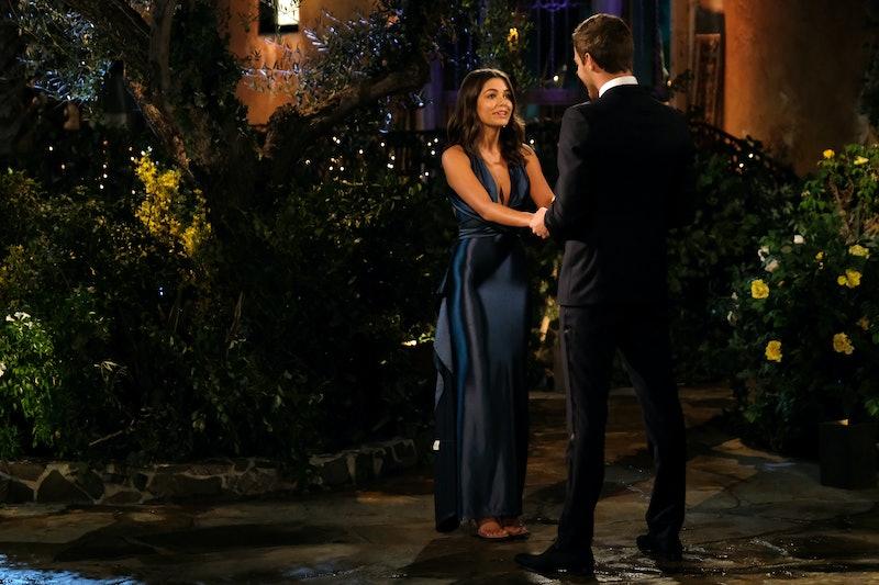 Hannah Sluss is a contestant in Peter's Bachelor season.