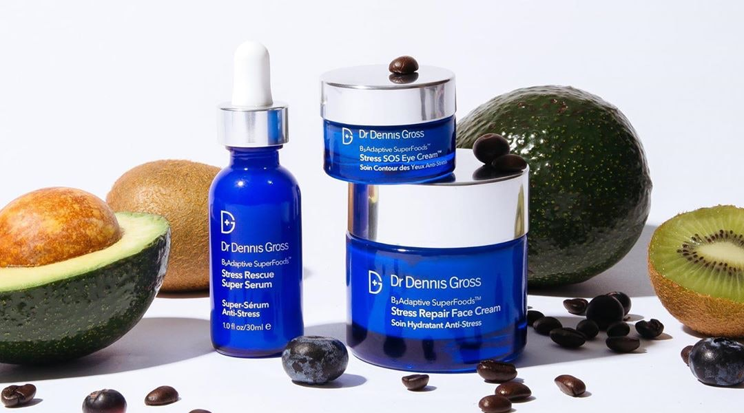 Dr. Dennis Gross' new B₃Adaptive SuperFoods collection combats stress with nutrient-rich ingredients and an efficient delivery system.