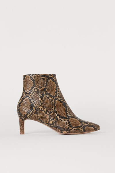 Ankle Boots with Pointed Toes