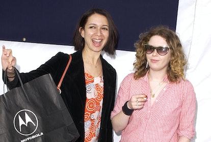 Maya Rudolph and Natasha Lyonne in 2002