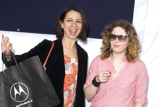 Maya Rudolph and Natasha Lyonne in 2002