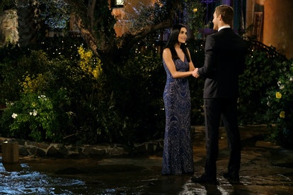 The Bachelor's Jade wore a glittering column dress.