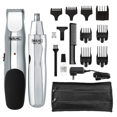 Wahl Rechargeable Beard, Mustache, And Nose Hair Trimmer