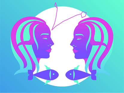 Drawing of Pisces for best goal-setting tip to follow for 2020.