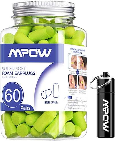 Mpow Soft Earplugs (60 Pairs)