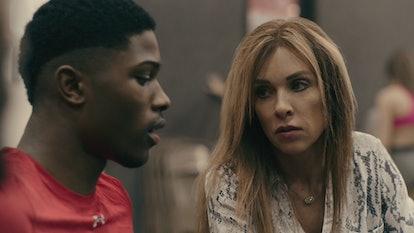 Monica Aldama coached La'Darius Marshall on Netflix docuseries 'Cheer.'