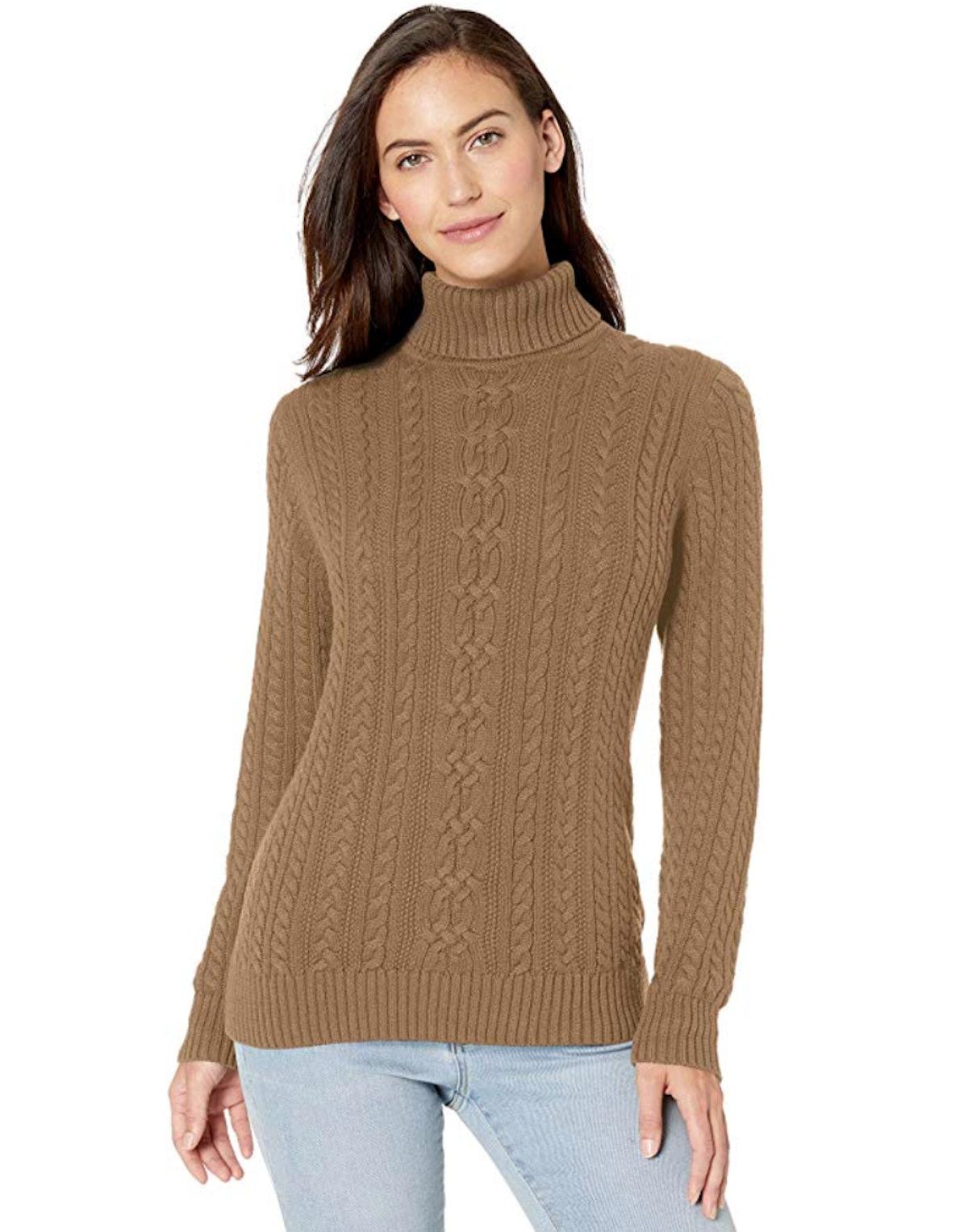 Amazon Essentials Fisherman Sweater