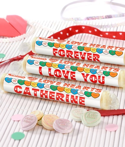 Personalised Love Hearts