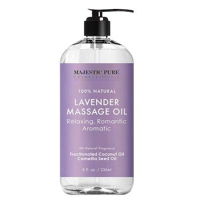 MAJESTIC PURE Lavender Massage Oil