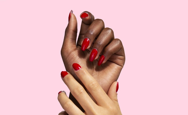 Lights Lacquer's new Serendipity nail polish is the perfect red for Valentine's Day.